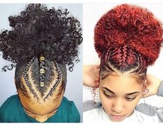 Black Girl Hair Styles - hairstyles Black Girl Braided Hairstyles Pin By Heather Harriman On Hair Black Girl Braided Hairstyles, Black Girl Braids, Cute Girls Hairstyles, Girls Braids, Easy Hairstyles, Men's Hairstyle, Curly Haircuts, Black Curls, Hairdos
