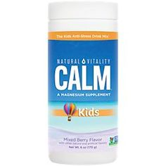 Natural Vitality Brand Products | The Vitamin Shoppe Calm Magnesium Powder, Natural Calm Magnesium, Good Manufacturing Practice, Love Natural, Bone Health, Mixed Berries, Medical Prescription, Anti Stress, Mixed Drinks