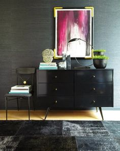 Copy Cat Chic: Copy Cat Chic Room Redo | Dark & Glamorous Entry