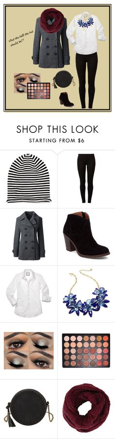 """""""in search for the hat"""" by tatiana-touraeva on Polyvore featuring H&M, Dorothy Perkins, Lands' End, Lucky Brand, Kate Spade, Morphe, T-shirt & Jeans and BCBGMAXAZRIA"""