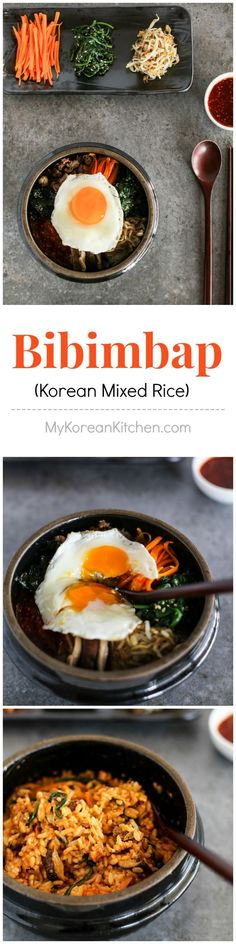 Addictively delicious Bibimbap recipe | My ultimate favorite but in the hot stone bowl