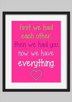 Kids Love Quote Print Baby / Girls Room by WalkerPhotoInvites, $5.00