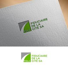 Create a new visual identity for FDLC - Fiduciaire De La Cité SA Réalisé par… Visual Identity, Create, Logos, Design, Logo Creation, Corporate Design, A Logo, Design Comics