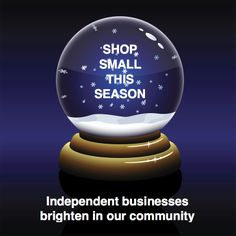 Shop Small This Season graphic, courtesy of the Specialty Shop Retailing blog. Please share.