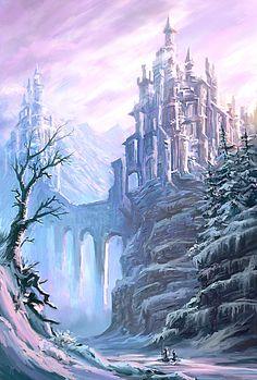 Journey Through the Frost by arisuonpaa on deviantART