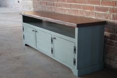 TV Stand / Media Console / Media Cabinet / Rustic by FurnitureFarm