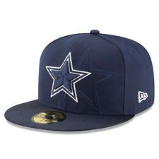 3caed3dbd4302 Dallas Cowboys New Era NFL 2016 Sideline 59FIFTY Fitted Cap New Era  59fifty