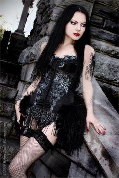 Gothic Beauty Sexy | media-cache-cd0.pinimg.com