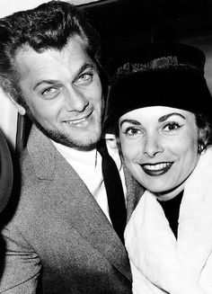 """ Tony Curtis and Janet Leigh, 1957. """