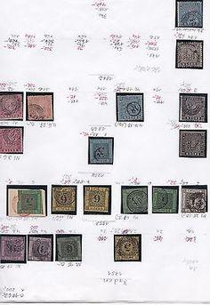 AD Baden, 2 interessante Seiten voller Briefmarkensparen25.com , sparen25.de , sparen25.info
