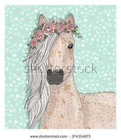Bildergebnis für cute horse drawing