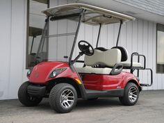 New yamaha golf carts on pinterest golf carts golf and for Golf cart garage door prices