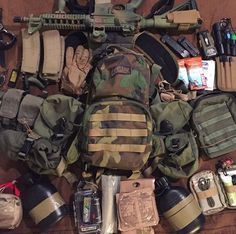 Ultimate Buyer's Guides for Tactical Gear & Tools / Firearms & Ammo / Everyday Carry Gear / Survival Gear. How To's, Tips & Tricks, and more! Survival Essentials, Survival Prepping, Survival Gear, Survival Skills, Outdoor Sporting Goods, Everyday Carry Gear, Battle Rifle, Combat Gear, Diy Camping