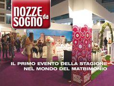 Uno stand a Nozze da Sogno? Richiedi informazioni su www.nozzedasogno.com