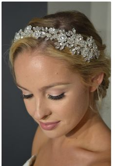 Bling Wedding, Boho Wedding, Summer Wedding, Rustic Wedding, Wedding Day, Bridal Tiara, Bridal Headpieces, Bridal Jewelry, Floral Headbands