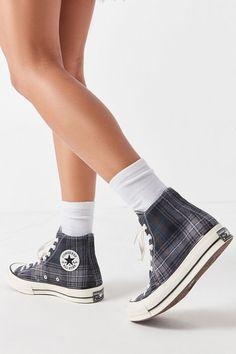 85aceeade2 Slide View  1  Converse Chuck 70 Plaid High Top Sneaker Online Shopping