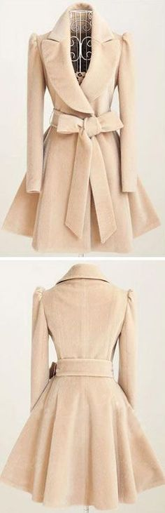 Have you been touched by this Lovely coat? More amazing pieces at CUPSHE.COM