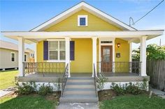 3720 Delachaise St, NOLA 70125   like the house color and porch railing