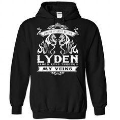 LYDEN blood runs though my veins - #shirt prints #burgundy sweater. SATISFACTION GUARANTEED => https://www.sunfrog.com/Names/Lyden-Black-Hoodie.html?68278