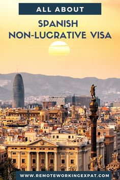Many expats and digital nomads choose Spain as their destination for remote working. Spain is a wonderful country for digital nomads and remote workers for several reasons. Let's go into details and learn how you can work remotely from Spain and how to apply for Spanish non-lucrative visa. #digitalnomad #nomad #remotework #remotejobs #travel #slowtravel #spain #eutravel # EUvisa #immigration #expatlife #expat