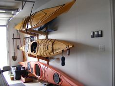 Superieur How To Create Kayak Garage Storage