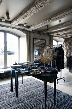 Such a rustic space. Love the interior design. -- club monaco in noma copenhagen designboom