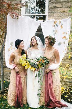 Fall inspired pre-wedding shoot