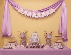 "Sofia the First / Birthday ""Sofia the First Royal Tea Party"" 