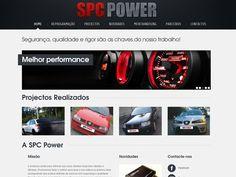 Ao longo dos anos, a SPC POWER, tem vindo a desenvolver e a melhorar o seu know-how na reprogramação de centralinas e de soluções de competição automóvel, para isso, solicitou os serviços da interattiva – branding solutions para o desenvolvimento de todo o seu website.