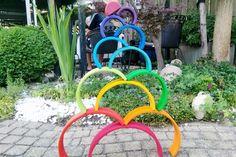 Grimm's houten regenboog - Mamaliefde Montessori, Grimm's Toys, Grimms Rainbow, Imaginative Play, Garden Hose, Rainbows, Wooden Toys, Little Ones, Children