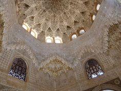 Alhambra, Granada, Espanha. Estilo mourisco.