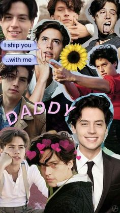 Cole Sprouse Collage