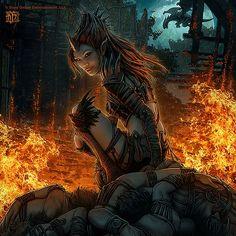Beautiful Fantasy Illustrations by Kerem Beyit
