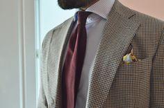 Cravatte model: Borgogna and pochette model: Papavero. Sprezza. Spanish brand. www.sprezza.es