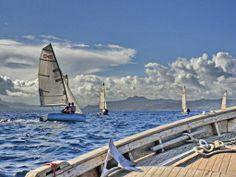 sailing in Porto Palma - Caprera
