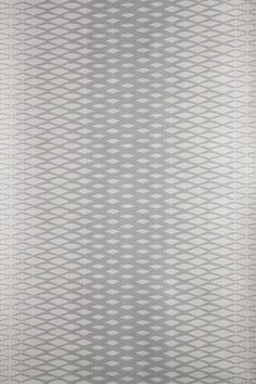 """Lattice BP 3503 - Wallpaper Patterns - Farrow & Ball. Taken from 19th Century French archives, Lattice is a wallpaper of palpable class. The undulating pattern ripples up the length of the paper, creating a mesmerising and hypnotic design. Lattice is brassy and elegant, brave and modestly chic. Full roll width is 53cm/21"""", roll length is 10m, pattern repeat is 2.6cm or 1 1/16, Available in 5 colourways."""