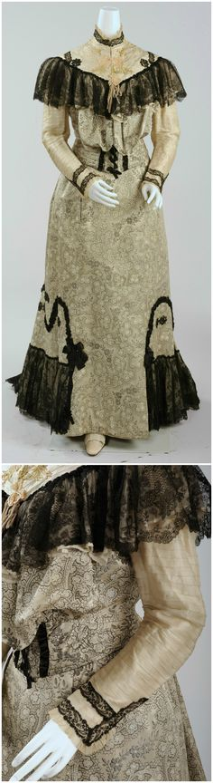 Dress for the Races, around 1900/1903. Collection of Wien Museum (photos: Christa Losta), via Google Cultural Institute and Europeana Fashion Tumblr.