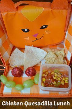 chicken quesadilla kids lunch idea #kidslunch via @Ellen #client