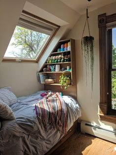 """My craft nook or as my husband calls it """"The Napping Nook"""" : CozyPlaces Room Ideas Bedroom, Bedroom Decor, Bedroom Inspo, Indie Room, Aesthetic Room Decor, Cozy Room, Dream Rooms, My New Room, House Rooms"""