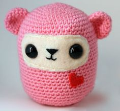 Pink and Cute amigurumi crochet pattern