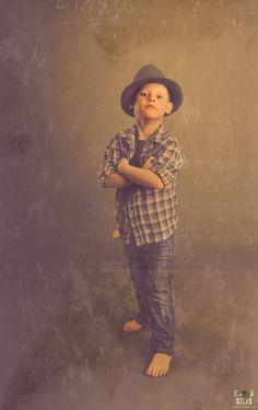 vintage style kids photo shoot