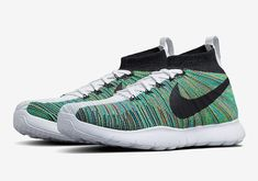#sneakers #news Riccardo Tisci Brings Multi-Color Flyknit To The NikeLab Training Shoe