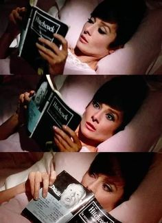 """Audrey Hepburn in """"How to Steal a Million"""" (1966)"""