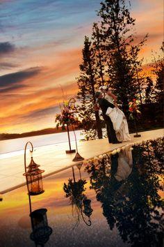 Fall wedding at the Coeur d'Alene Resort