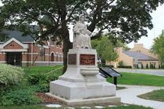 """History: Find info & the statue of """"Aunt"""" Laura Haviland, at the Lenawee County Historical Museum, in Adrian http://www.visitlenawee.com/historicsites.html"""