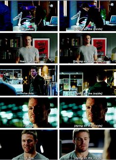 Dying on the inside... Summary of Oliver Queen. #Olicity