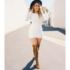 "#happy  Dress: @hotmiamistyles  Shoes: @lolashoetique  Hair: @bellamihair use my code ""Chrisspy"""