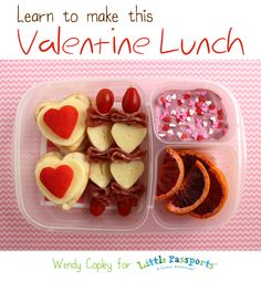 Learn to make a Valentine lunch. [Tutorial]
