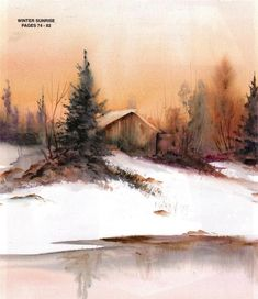 SALE!!!   A Paintbox of Ideas Vol 2 by Susan Scheewe BrownTV Book CD FOR COMPUTER USE Painting Paneling, Painting Prints, Watercolor Paintings, Landscape Artwork, Watercolor Landscape, Mediums Of Art, Barn Art, Acrylic Painting Tutorials, Country Scenes