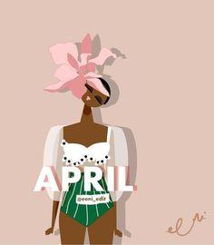 Black Girls Power, Black Girl Art, Black Women Art, Black Art Painting, Natural Hair Art, Spice Labels, Black Art Pictures, Afro Art, Sewing Art